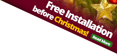 Free installation before Christmas